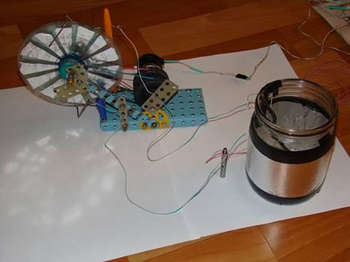 Электрофорная машина как сделать своими руками 84